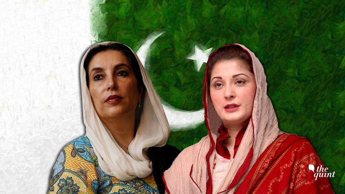 Benazir Bhutto (L) & Maryam Sharif (R). Image used for representational purposes.