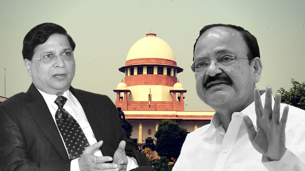 VP Order on CJI Impeachment was Illegal, Arbitrary: Petition in SC