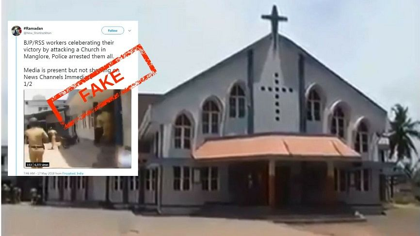 Webqoof: 10-Yr-Old Video Passed Off as Attack on Church by BJP/RSS