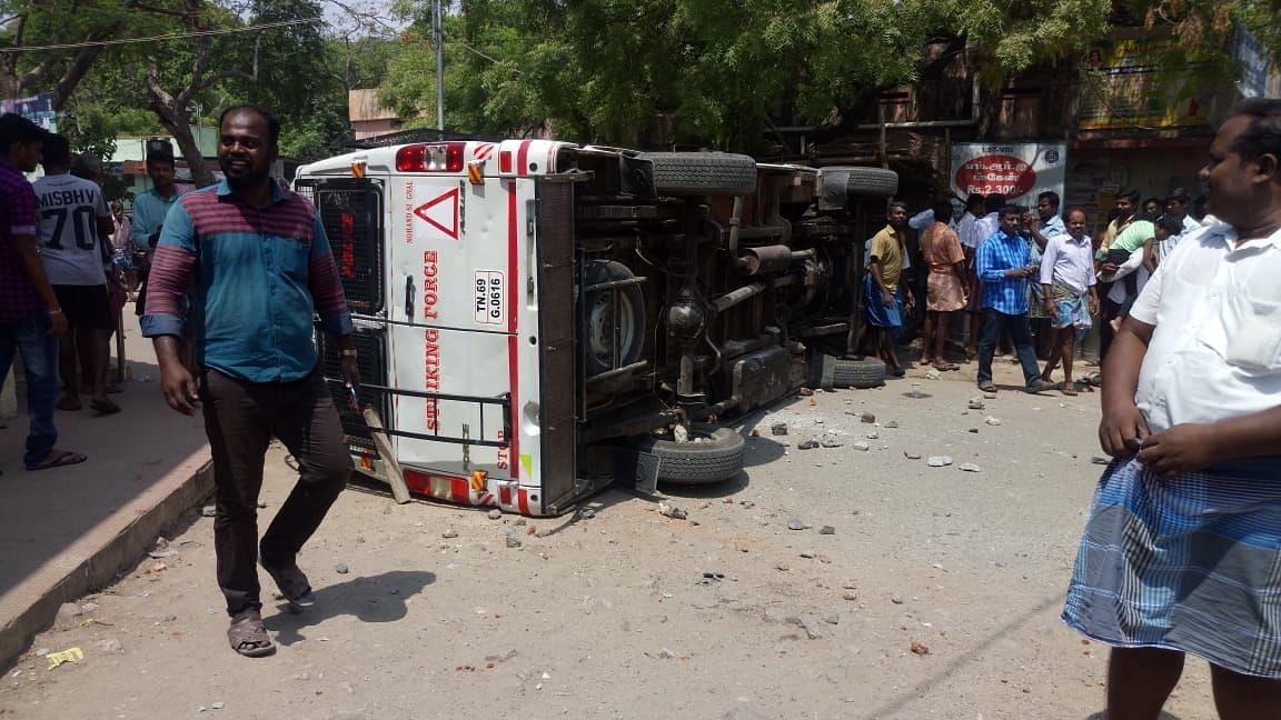 Anti-Sterlite Protests Turn Violent in TN, CM Announces Relief