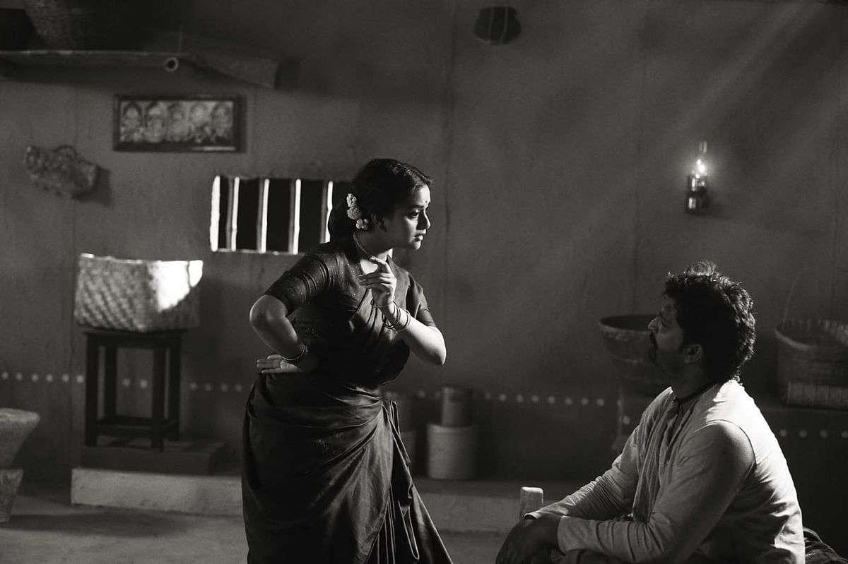 Keerthi Suresh in a still from <i>Mahanati</i>.