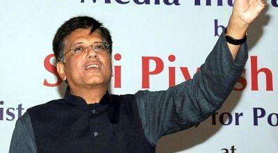 Interim Finance Minister Piyush Goyal.