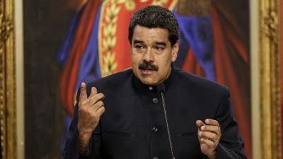 Venezuelan President Nicolas Maduro. (Xinhua/Str/IANS)