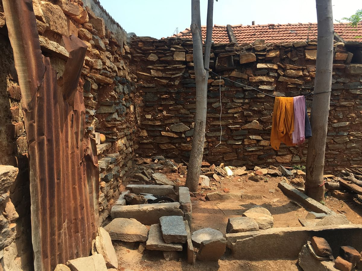 There are several deserted houses like this in Mandya which belong to farmers who have committed suicide due to mounting debt.