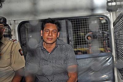 Gangster Abu Salem. (Photo: Sandeep Mahankal/IANS)