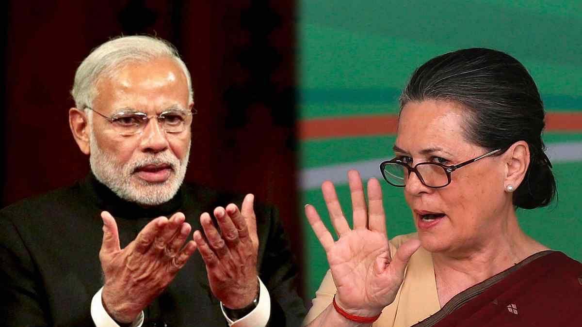 Sonia Gandhi, PM Modi Face Off Before Karnataka Elections