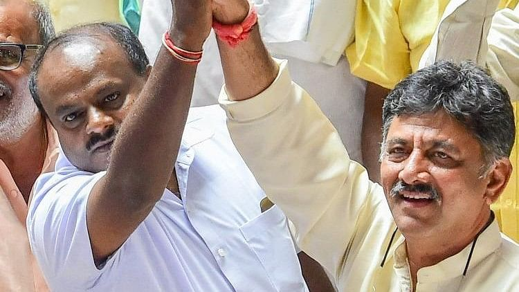 This isn't the first time he was tasked with the job that DK Shivakumar was tasked with the job.