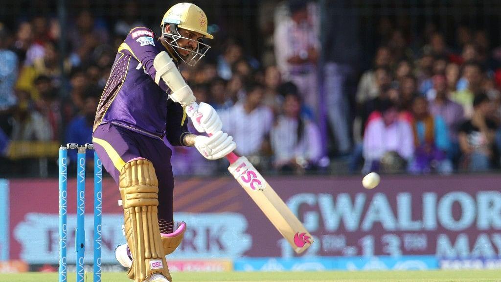 Sunil Narine scored a quick-fire 64 against Delhi Capitals.