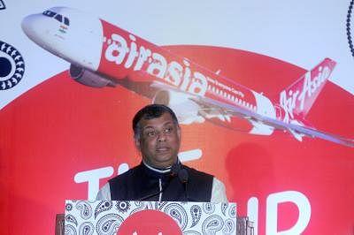 AirAsia airline CEO Tony Fernandes. (Photo: IANS)