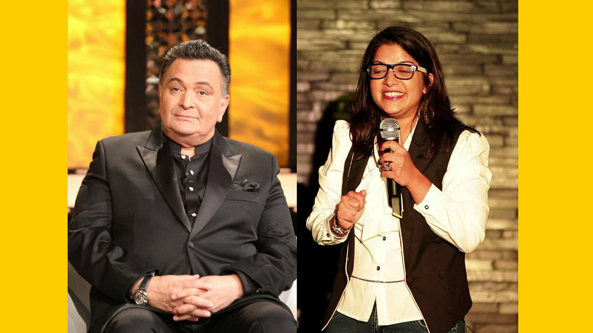 Rishi Kapoor's fury is being called out by Aditi Mittal.