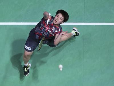 Akane Yamaguchi. (Xinhua/Han Yan/IANS)