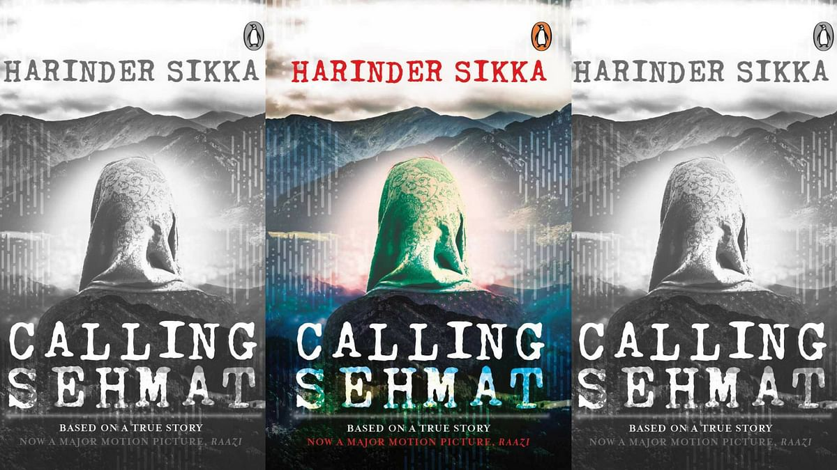 The book cover of <i>Calling Sehmat</i>.&nbsp;