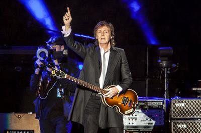 British singer Paul McCartney. (File Photo: Xinhua/Jose Patricio/AGENCIA ESTADO/IANS)