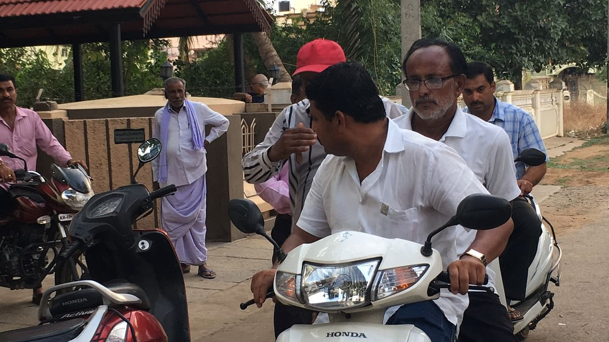 Several well-wishers have volunteered to physically campaign for Shankare Gowda.
