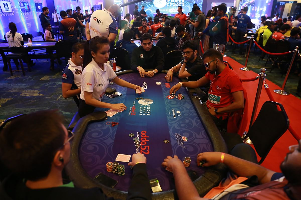 Poker Sports League became the first league to get a dedicated TV broadcast of Texas Hold'em poker in India.