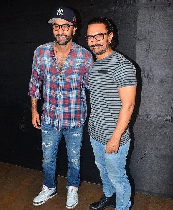Aamir Khan is sure Ranbir Kapoor has done a great job in <i>Sanju.</i>