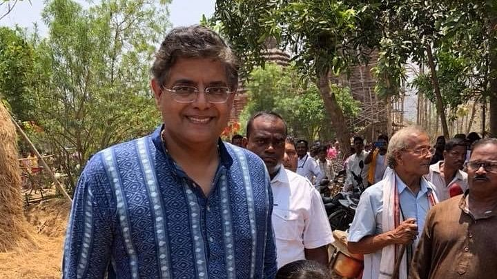 """Baijayant """"Jay"""" Panda was suspended from the BJD for """"weakening"""" the party in January this year."""