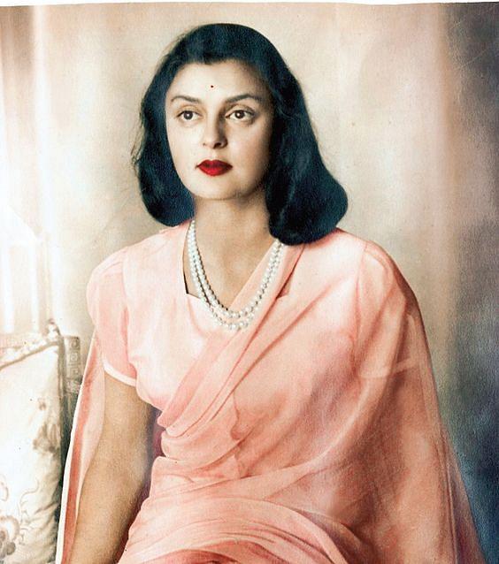 Maharani Gayatri Devi.