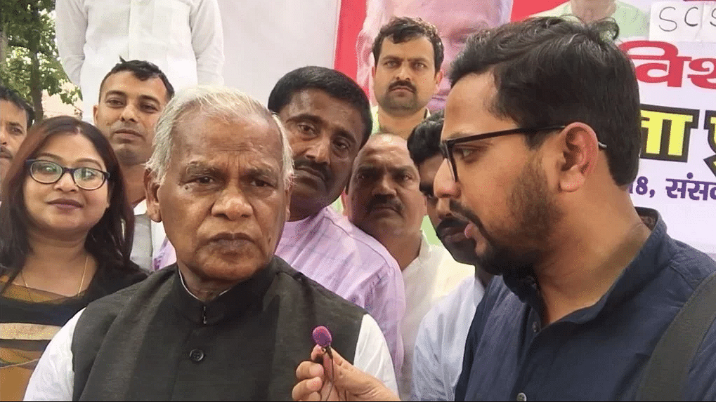 Party With Most Seats in 2019 Will Choose PM: Manjhi to The Quint