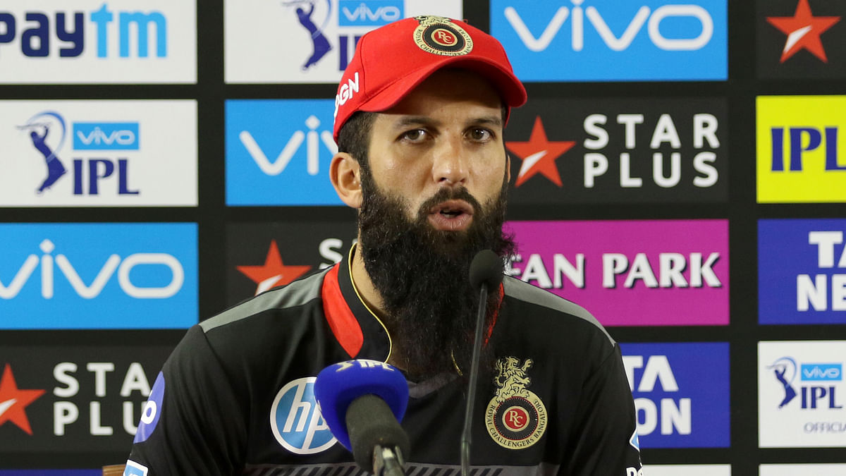 Moeen Ali was just one of the few players that RCB retained ahead of the IPL 2020 season.