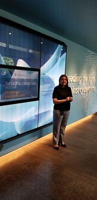 Shilpa Bratt, Director (Shared Services) of Digital Crimes Unit, Global Cybercrime Centre, Microsoft.