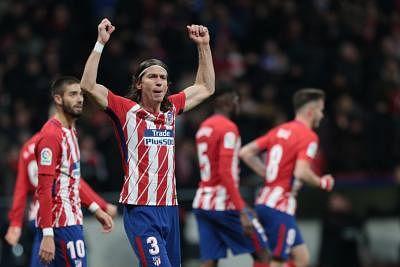 MADRID, Dec. 3, 2017 (Xinhua) -- Atletico de Madrid