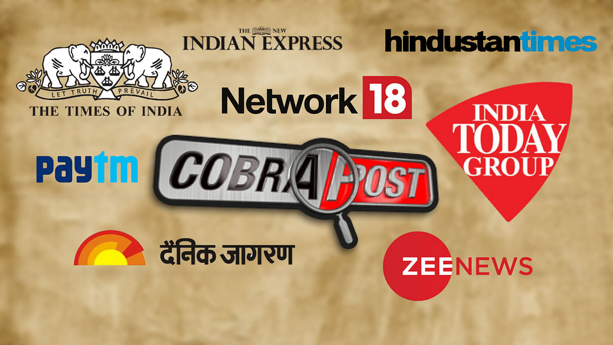 Cobrapost Sting: 'Explain Your Position,' Editors Guild Asks Media