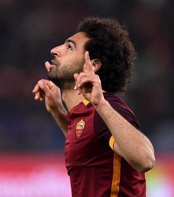 Mohamed Salah. (Xinhua/Alberto Lingria/IANS)