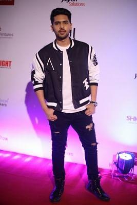 Mumbai: Singer Armaan Malik at Dada Saheb Phalke film foundation awards 2018, in Mumbai on April 29, 2018. Armaan Malik receives best playback singer male. (Photo: IANS)