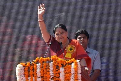 Rajasthan Chief Minister Vasundhara Raje. (File Photo: IANS)