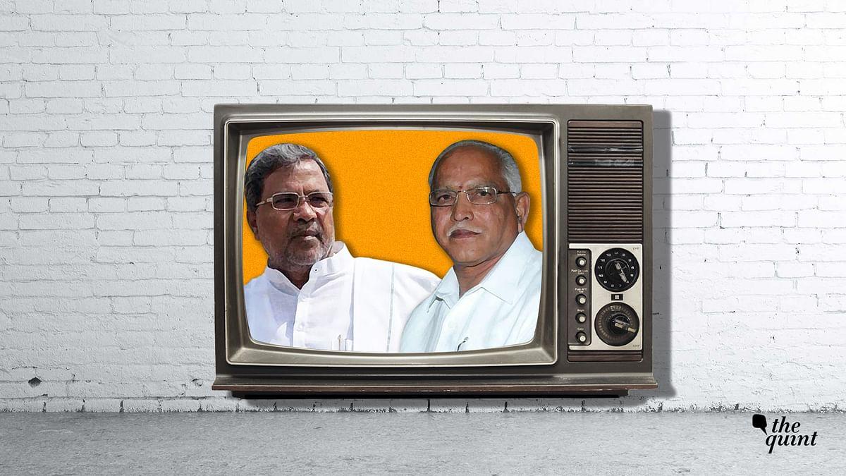 Siddaramaiah (L) and Yeddyurappa (R).