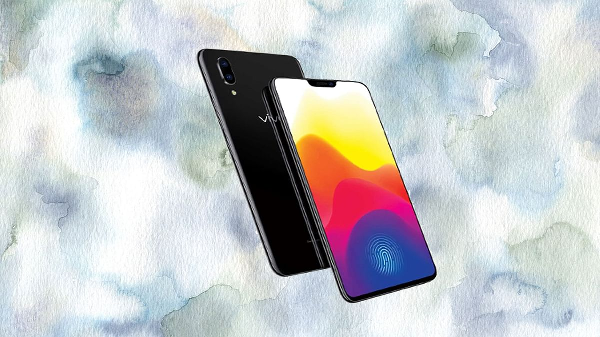 The Vivo X21 comes with a fingerprint sensor in the display