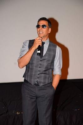 Aactor Akshay Kumar.