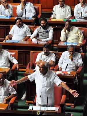Yeddyurappa stares at uncertain future in Karnataka