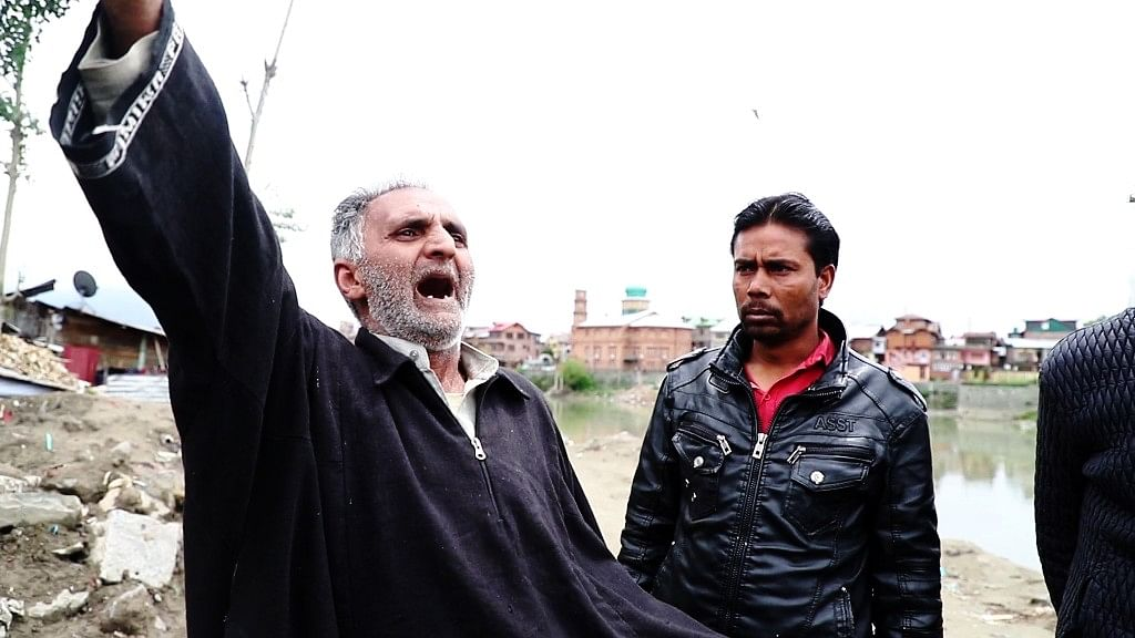 Adil's father is in a state of shock after his son'd death.