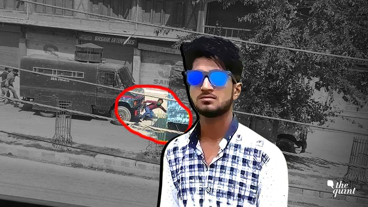Adil Ahmad Yadoo was mowed down by a police vehicle.