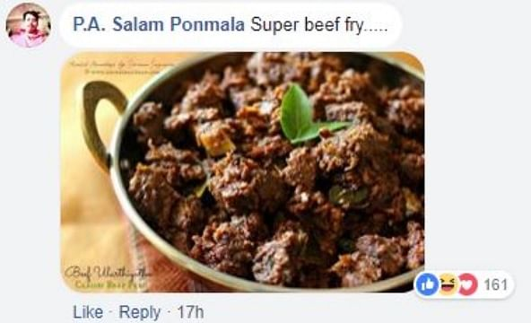 Sadhvi Lectures on Cows in Kerala, Malayalis Send Her Beef Recipes