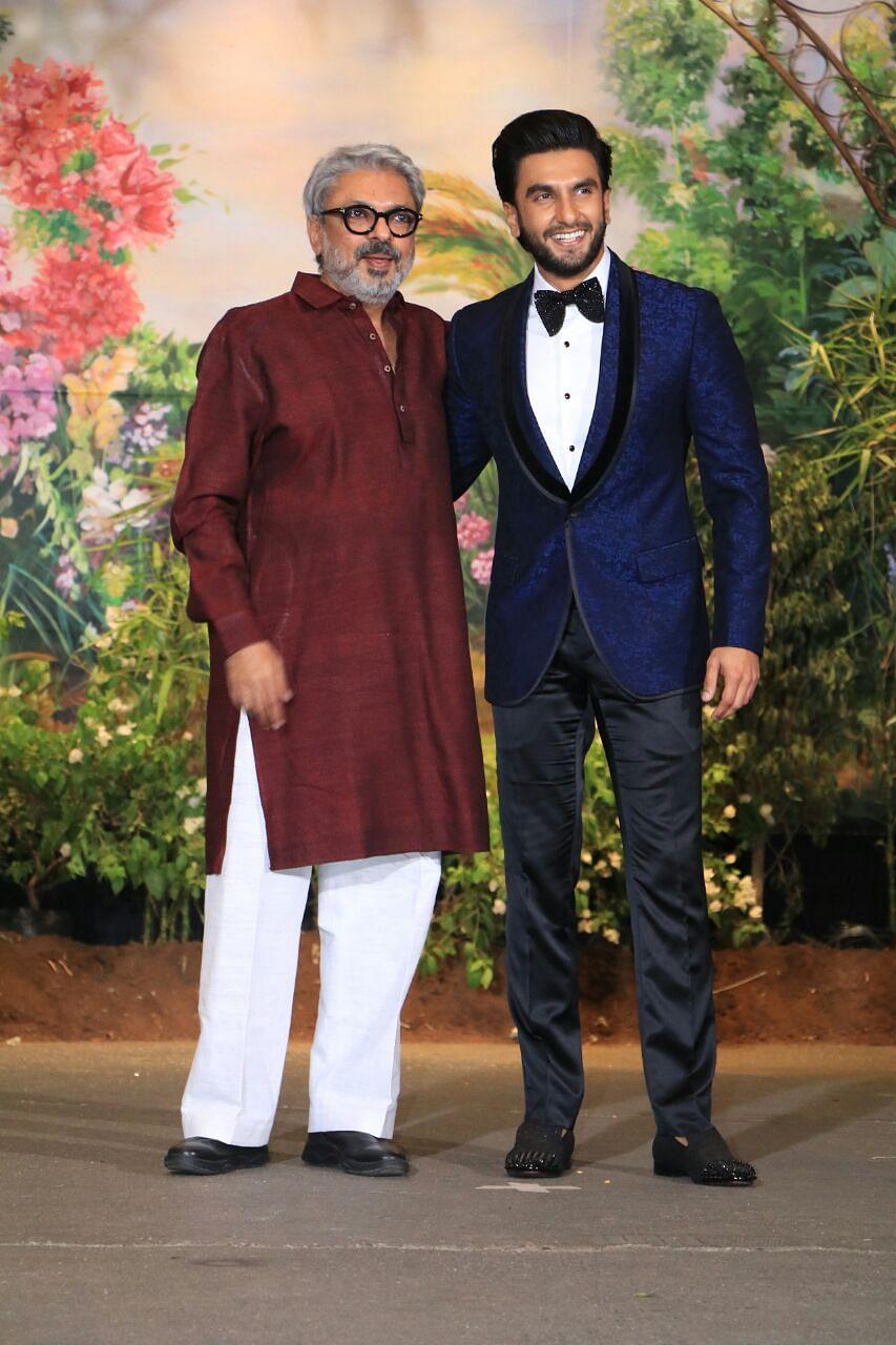 Sanjay Leela Bhansali is Ranveer Singh's date for the night!