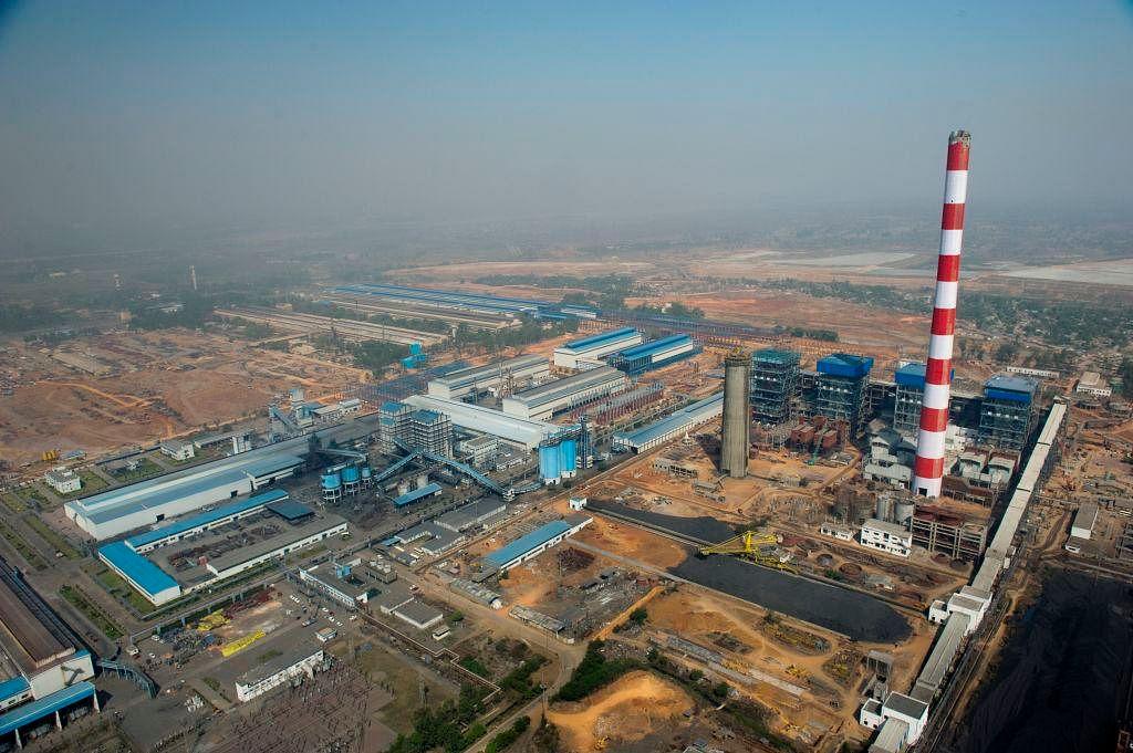 The BALCO power plant in Korba