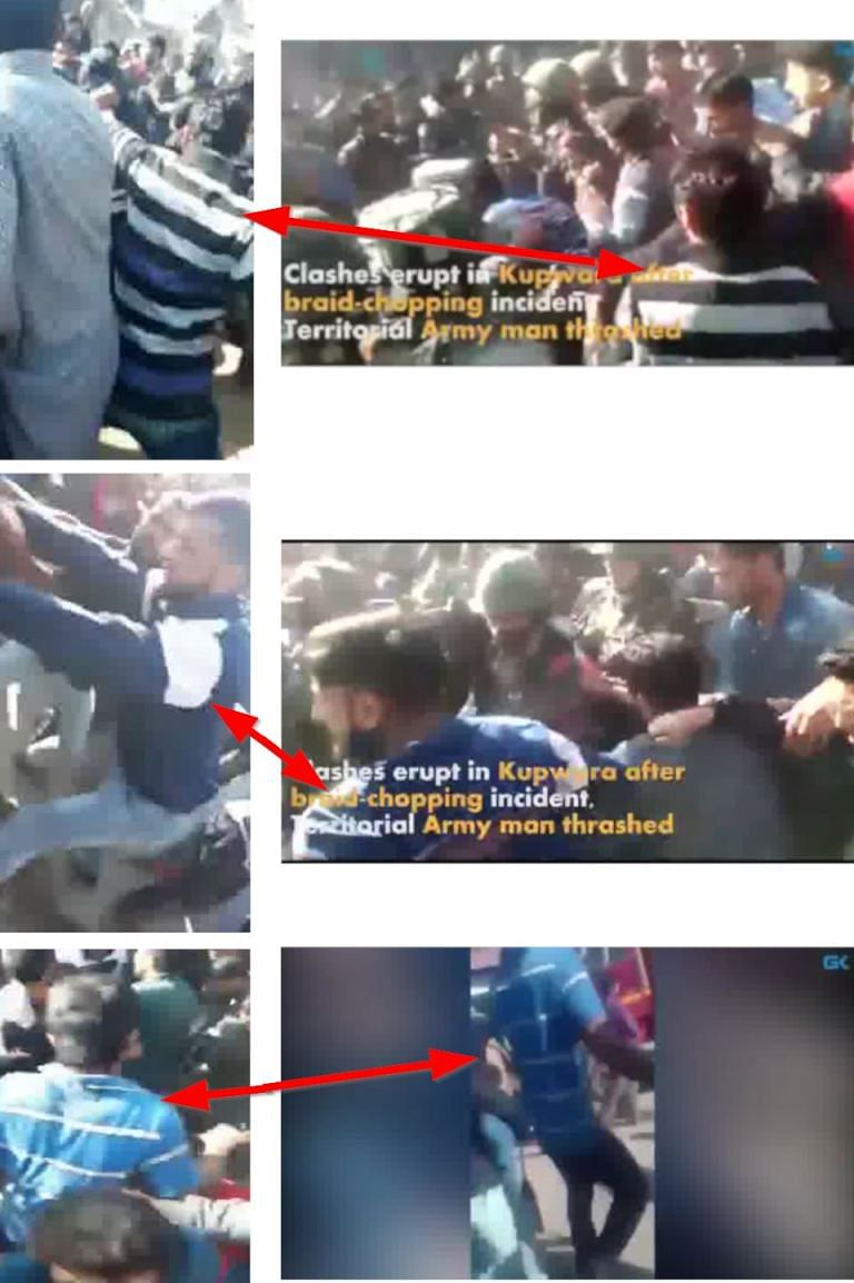 Old Video Being Circulated as 'Soldier Beaten to Death in Kashmir'