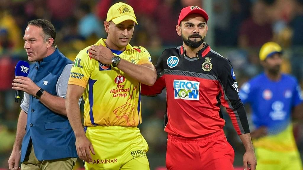 While RCB are in the fifth spot, having won three of their eight matches, CSK are still in a comfortable position, placed second with six wins from nine games.
