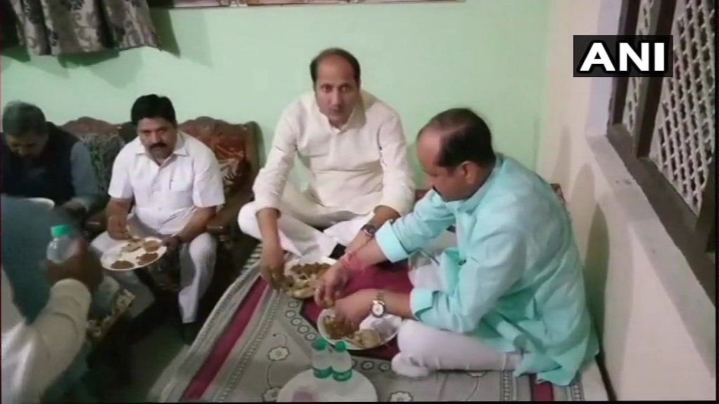 All the Times 'Dalit Dinners' Went Wrong for BJP Ministers
