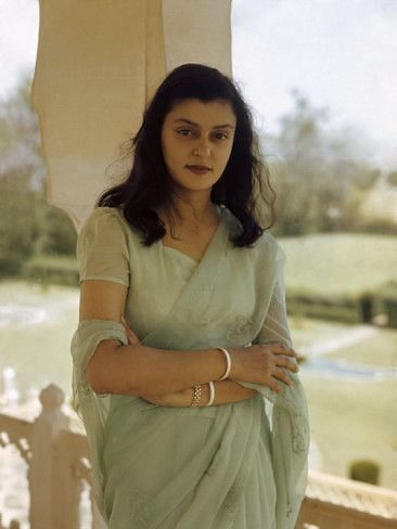 Gayatri Devi.