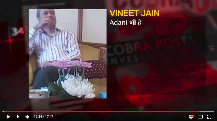 Cobrapost Stings TOI Boss Vineet Jain, Times Claims Reverse Sting