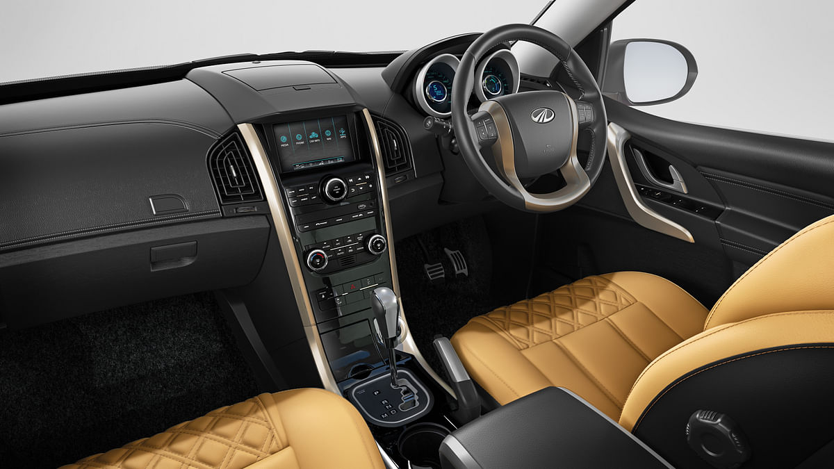 The new Mahindra XUV500 is high on performance and style.