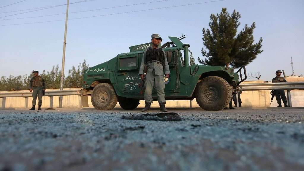 Afghan security forces stand guard in Kabul. Image used for representational purposes.