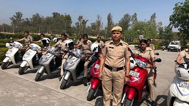 Women will not be promoted to the next rank unless they learn to drive two-wheelers.