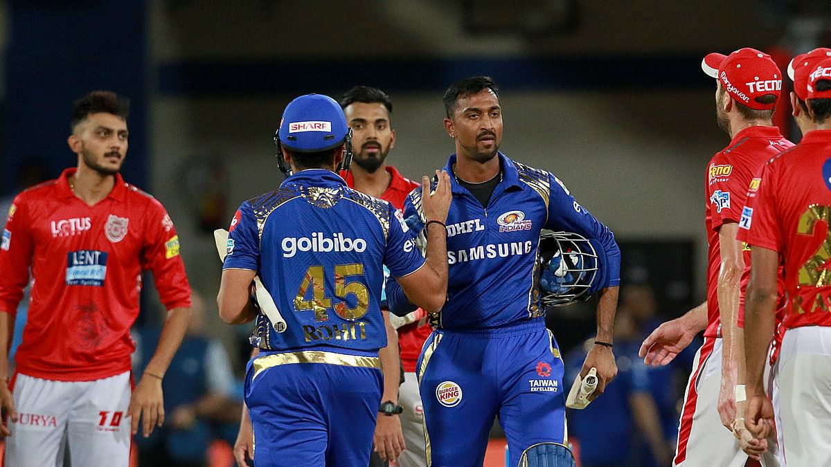 Rohit Sharma captain of MI celebrates after win during match thirty two of the Vivo Indian Premier League 2018 (IPL 2018) between the Delhi Daredevils and the Rajasthan Royals held at the Feroz Shah Kotla Ground, Delhi on the 2nd May 2018.