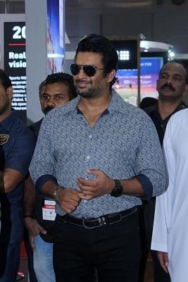 Mumbai: Actor R. Madhavan during a promotional programme in Mumbai on Nov 3, 2017.(Photo: IANS)