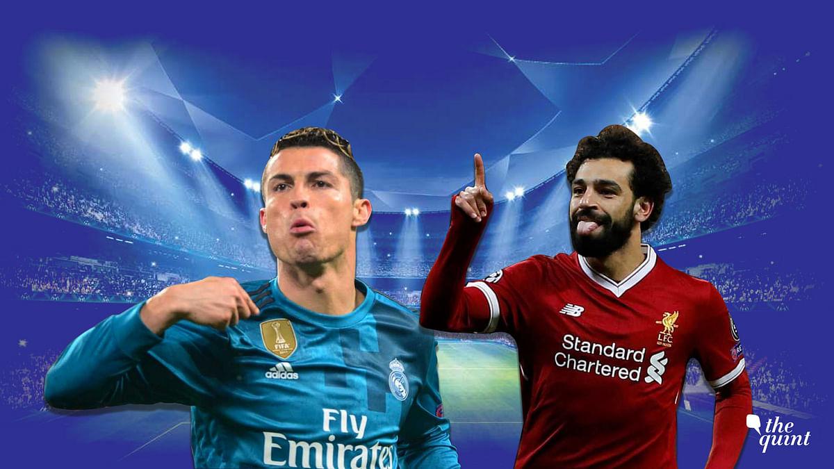 Ronaldo and Mo Salah are tied on 44 goals this season, though Ronaldo has played eight games less than Salah.